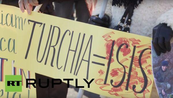 Roma manifestazione pro russia - Sputnik Italia