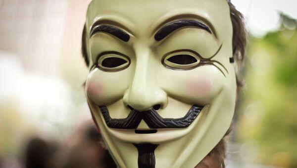 Maschera di Guy Fawkes - Sputnik Italia