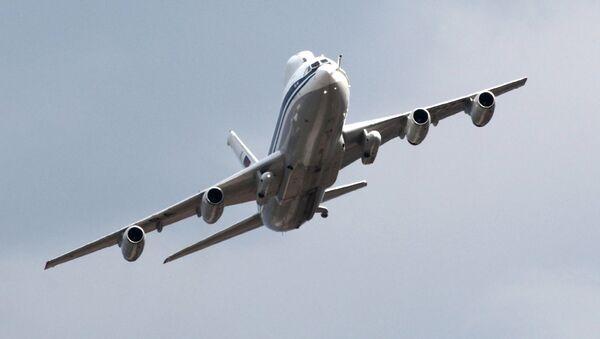 L'aereo Il-80 durante le celebrazioni del centinario delle Forze aeree russe. - Sputnik Italia