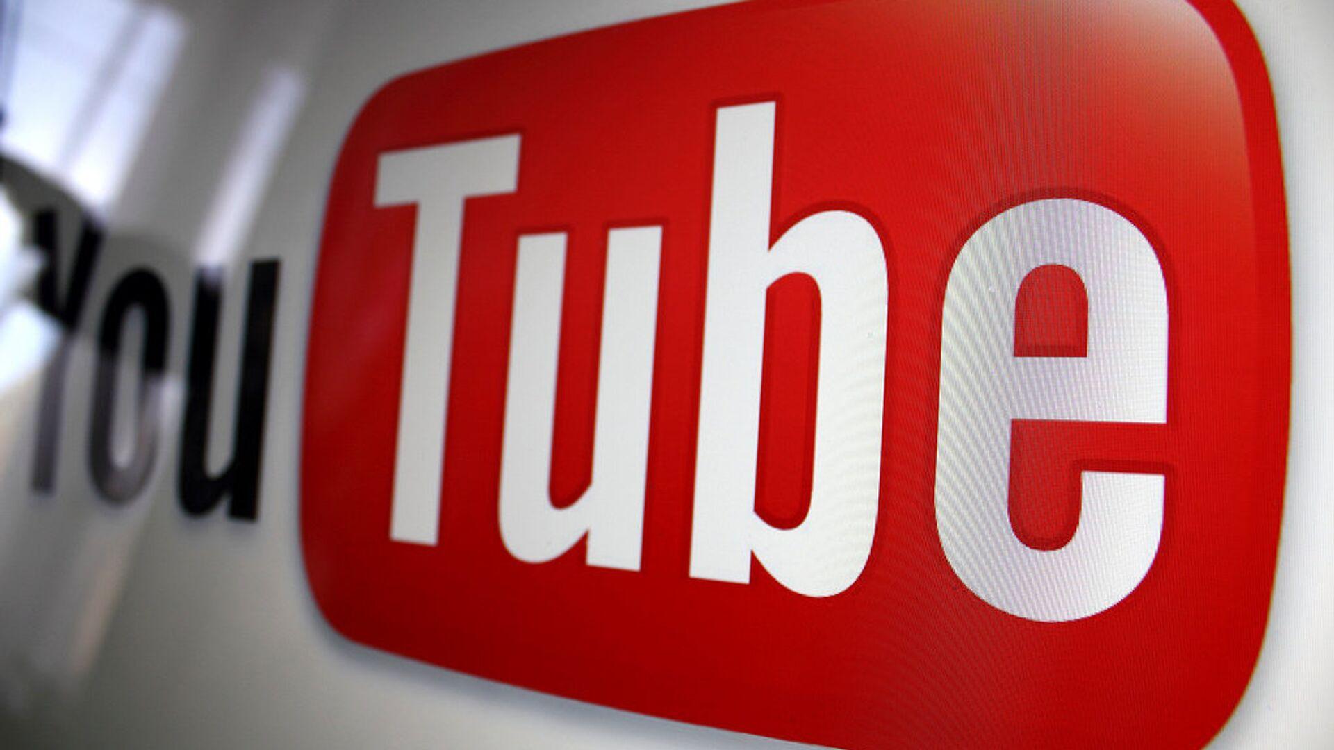 Youtube logo - Sputnik Italia, 1920, 29.09.2021