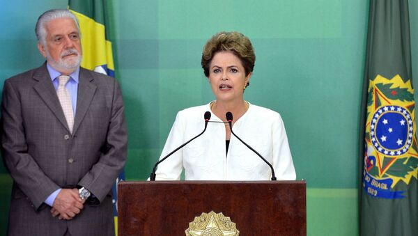 Il presidente del Brasile Dilma Rousseff - Sputnik Italia