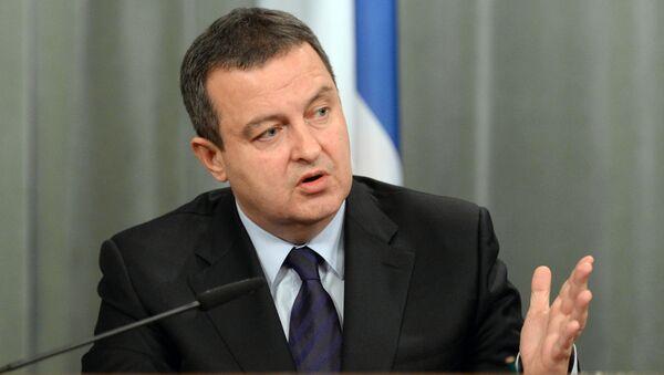 Ivica Dacic, vice premier e ministro degli esteri serbo - Sputnik Italia