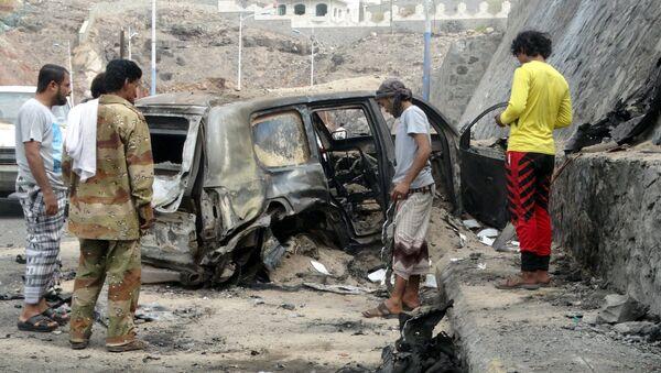 Attentato al governatore di Aden, Yemen - Sputnik Italia