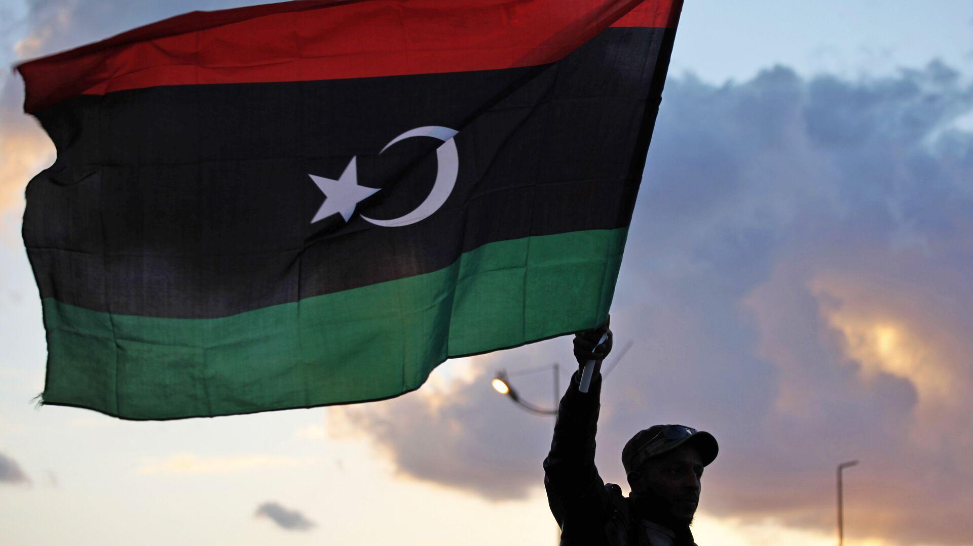 La bandiera della Libia - Sputnik Italia, 1920, 15.02.2021