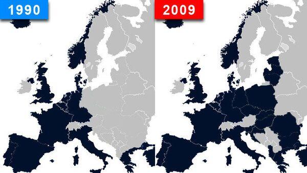 L'espansione della Nato dal 1990 al 2009 - Sputnik Italia