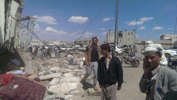 Yemen, le strade di Sanaa il giorno dopo le bombe - Sputnik Italia