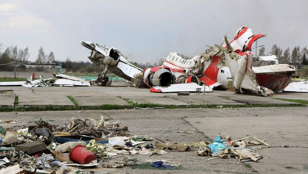 Rottami aereo presidenziale polacco, Smolensk - Sputnik Italia