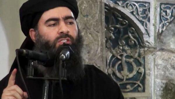 Abu Bakr al-Baghdadi, il leader del Daesh - Sputnik Italia