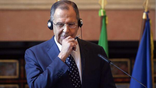 Sergey Lavrov a Roma - Sputnik Italia
