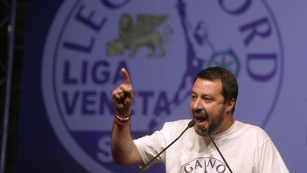 Il leader della Lega Matteo Salvini - Sputnik Italia