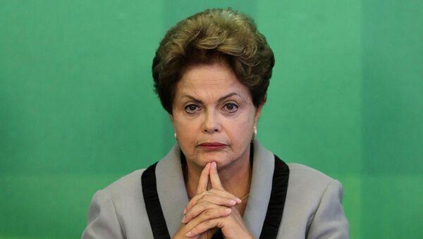 Dilma Rousseff, il presidente del Brasile - Sputnik Italia