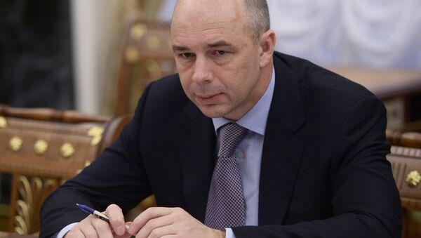 ministro delle Finanze della Russia Anton Siluanov - Sputnik Italia