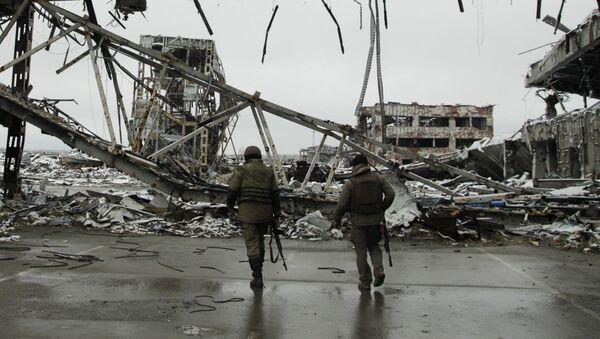 Rovine dell'aeroporto di Donetsk - Sputnik Italia