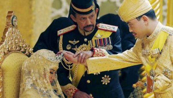 Il sultano del Brunei Hassanal Bolkiah - Sputnik Italia