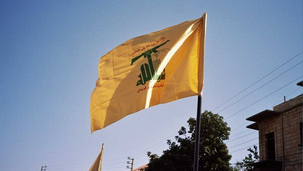La bandiera di Hezbollah - Sputnik Italia