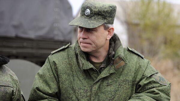 Eduard Basurin, vice comandante milizie DNR (Donbass) - Sputnik Italia