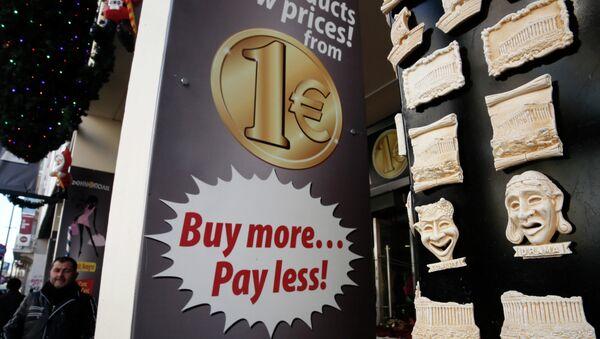 Eurozone Plunges into Deflation - Sputnik Italia