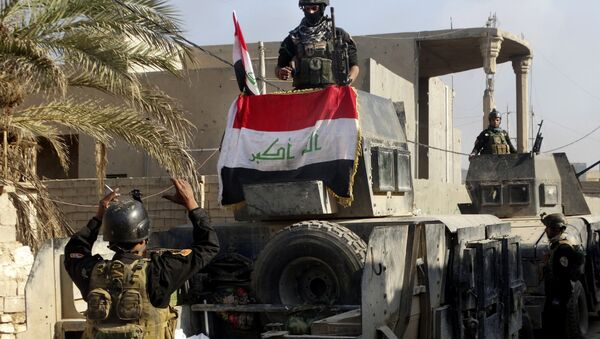 L'esercito iracheno a Ramadi - Sputnik Italia
