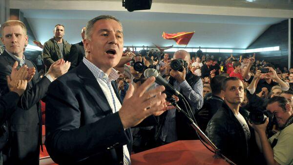 Il primo ministro del Montenegro Milo Djukanovic - Sputnik Italia