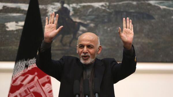 Ashraf Ghani, il presidente dell'Afghanistan - Sputnik Italia