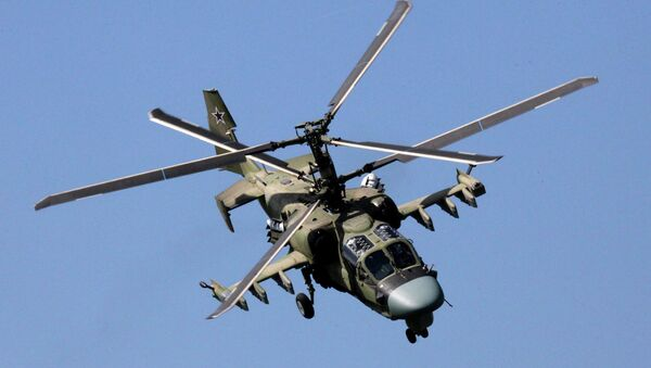 Elicottero d'attacco Ka-52 (foto d'archivio) - Sputnik Italia