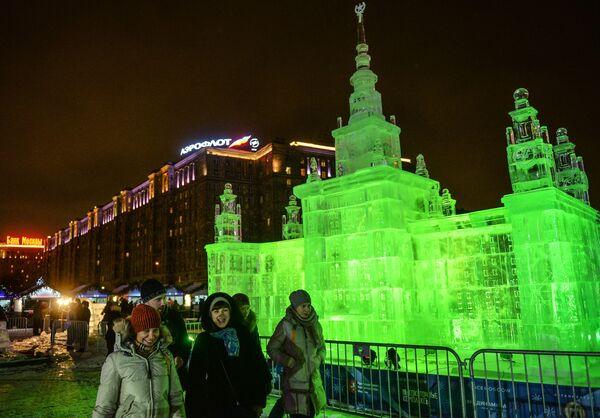Festival Mosca di ghiaccio. - Sputnik Italia
