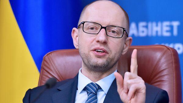 Премьер-министр Украины Арсений Яценюк - Sputnik Italia