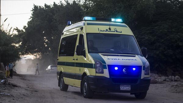 Ambulanza egiziana - Sputnik Italia