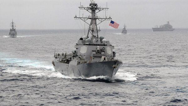 Nave della US Navy - Sputnik Italia