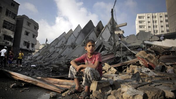 Le distruzioni nella Striscia di Gaza - Sputnik Italia