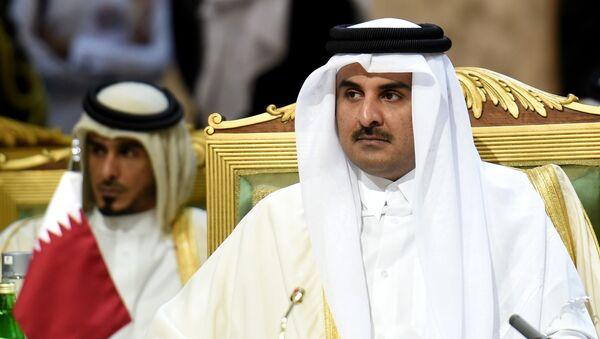Emiro del Qatar Tamim bin Hamad Al-Thani - Sputnik Italia