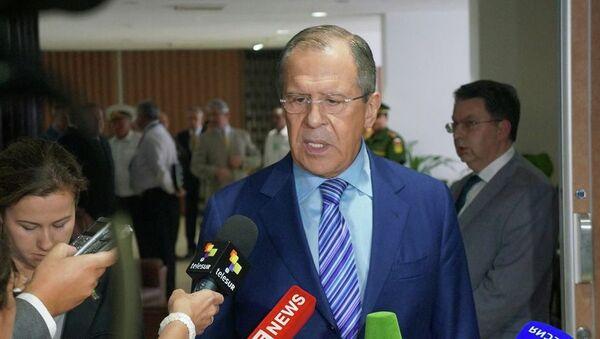 Sergej Lavrov, ministro degli Esteri - Sputnik Italia