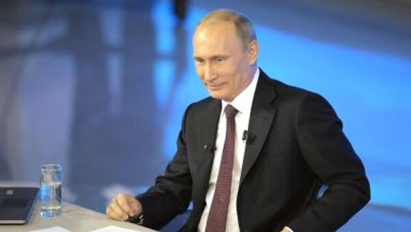 Linea diretta col presidente Putin - Sputnik Italia