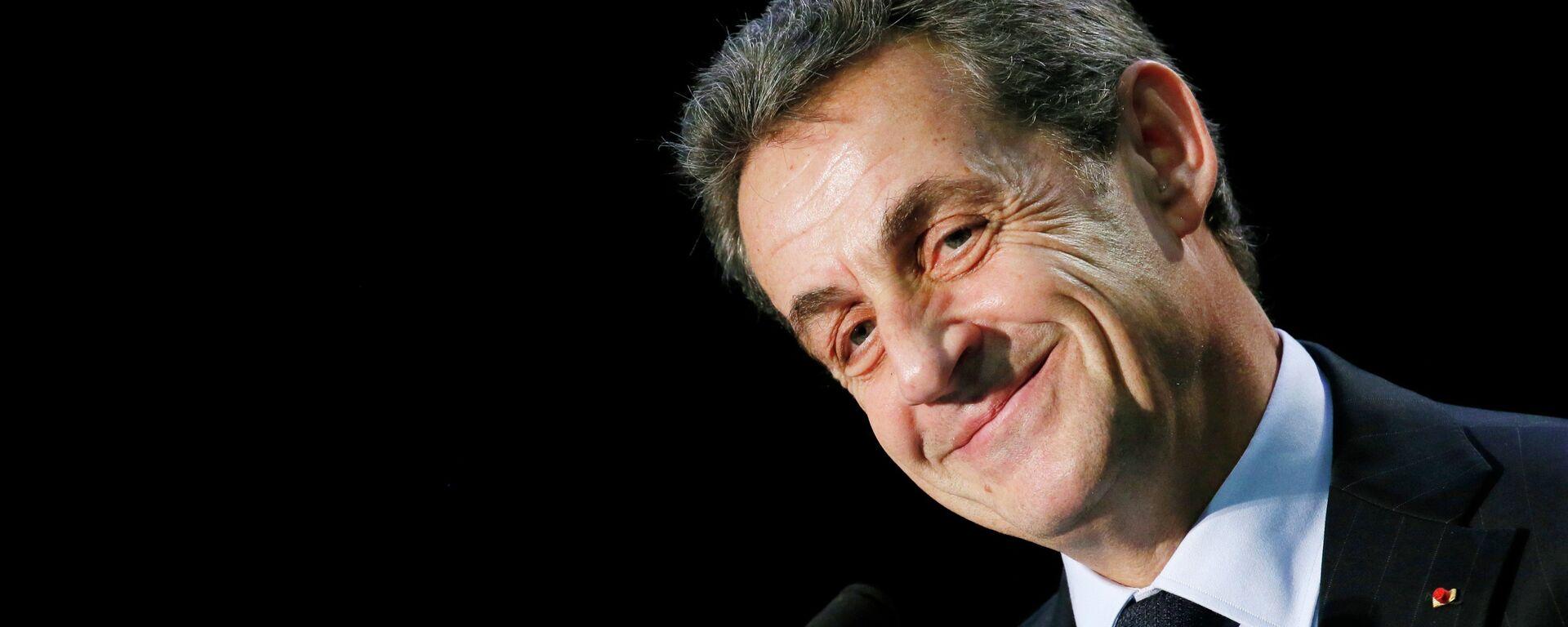 Nicolas Sarkozy, ex-presidente francese e il leader di UMP  - Sputnik Italia, 1920, 30.09.2021