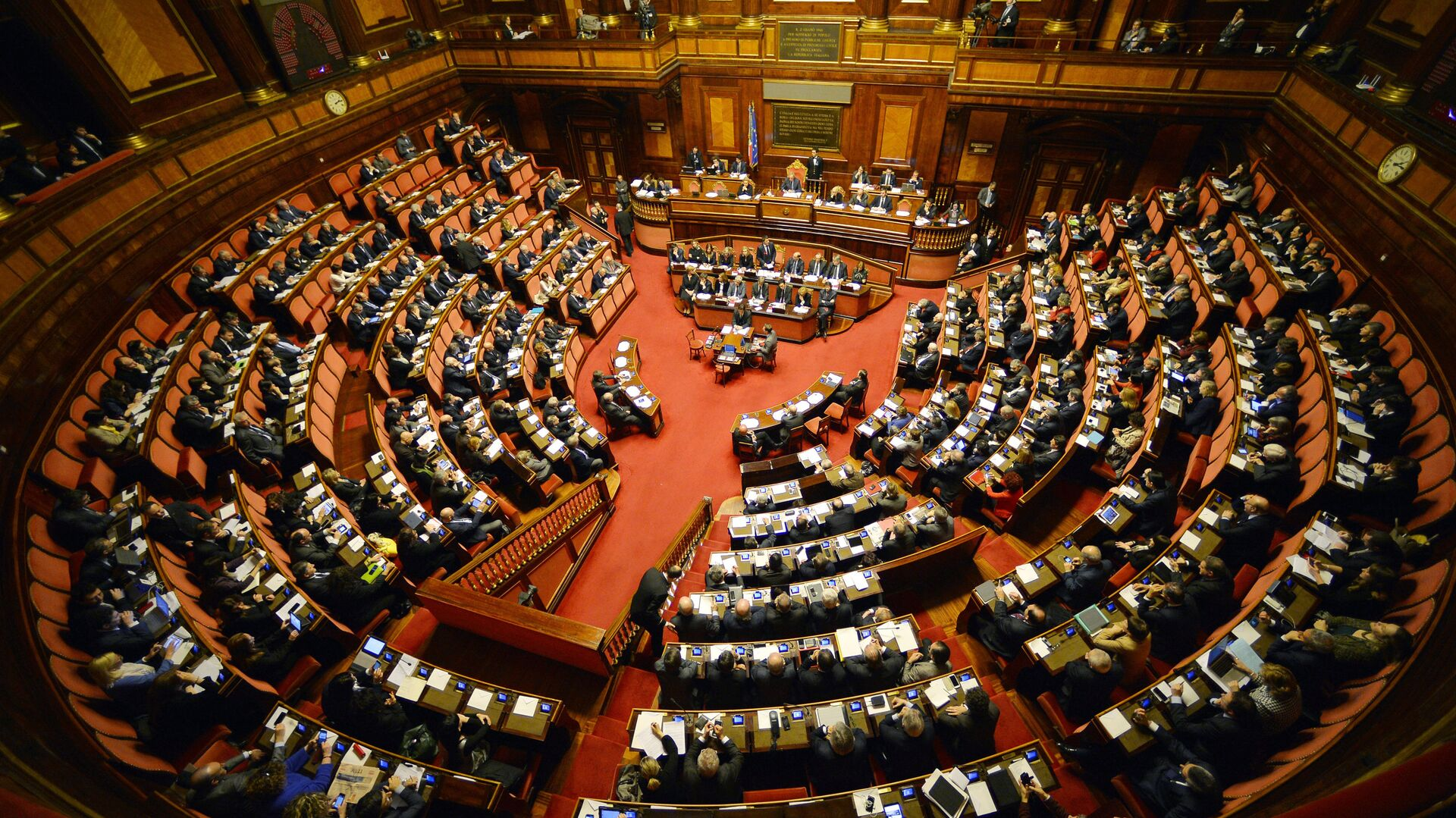 Il parlamento italiano - Sputnik Italia, 1920, 09.06.2021