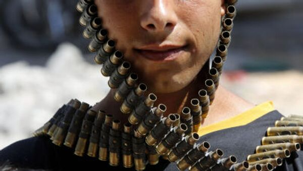 lI miliziano palesinese in Iraq - Sputnik Italia