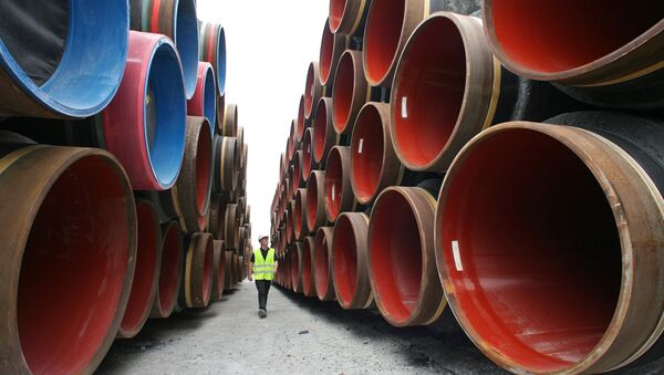 La costruzione di Nord Stream - Sputnik Italia