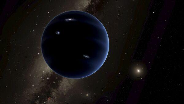 Иллюстрация предположительно новой планеты Солнечной системы Планеты 9 - Sputnik Italia