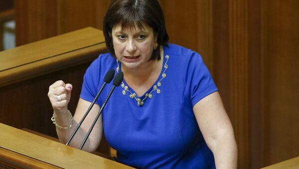 Ministro delle Finanze dell'Ucraina Natalia Yaresko - Sputnik Italia