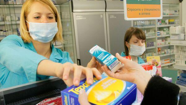 Russia, vendita di farmaci antivirali in farmacia - Sputnik Italia