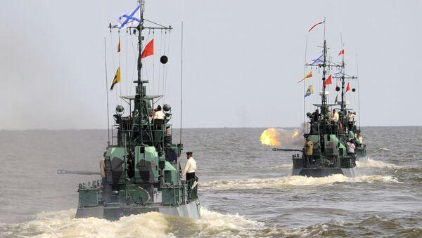 Esercitazioni delle truppe anfibie nel mar Caspio - Sputnik Italia
