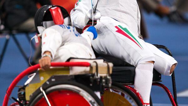 Paralimpiadi di Londra 2012, un duello di scherma - Sputnik Italia