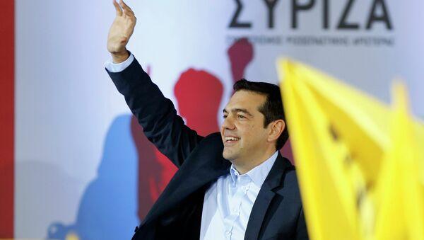Il primo ministro greco Alexis Tsipras ha in programma di visitare Mosca l'8 aprile, invitato dal presidente Vladimir Putin - Sputnik Italia