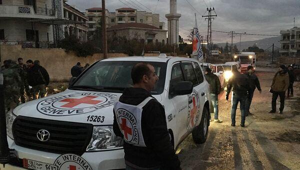 Croce Rossa in Siria - Sputnik Italia