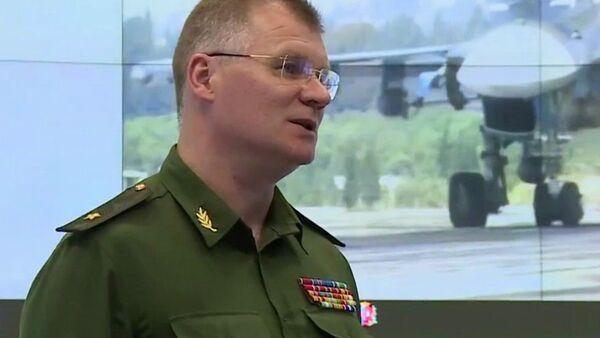 Il generale Igor Konashenkov - Sputnik Italia