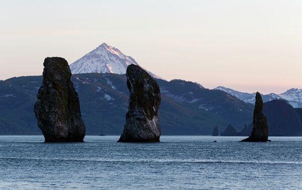 Un paesaggio della Kamchatka - Sputnik Italia