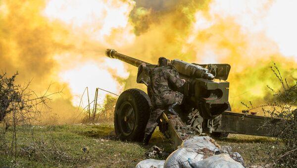 L'offensiva dell'Esercito siriano nei pressi d'Idlib. - Sputnik Italia