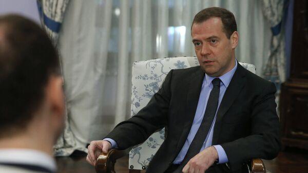Il primo ministro russo Dmitry Medvedev - Sputnik Italia