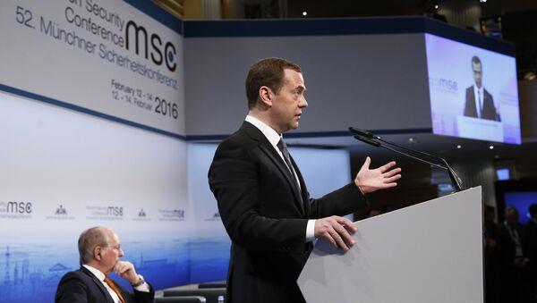 Dmitry Medvedev alla Conferenza sulla Sicurezza a Monaco - Sputnik Italia