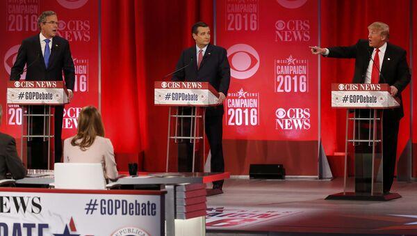 Dibattito tra Jeb Bush e Donald Trump - Sputnik Italia
